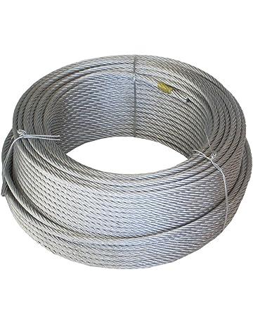 Wurko 12009008 Cable Trenzado, 2 mm
