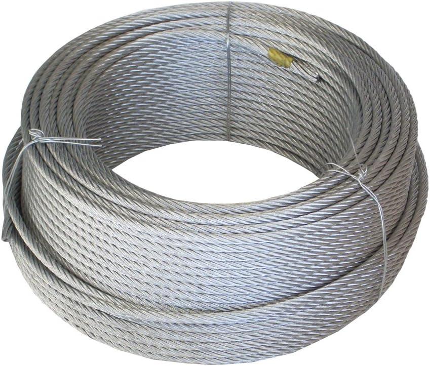Wurko 12011008 Cable trenzado, 3 mm: Amazon.es: Bricolaje y herramientas