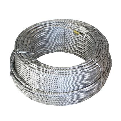 Wurko 12011008 Cable trenzado, 3 mm