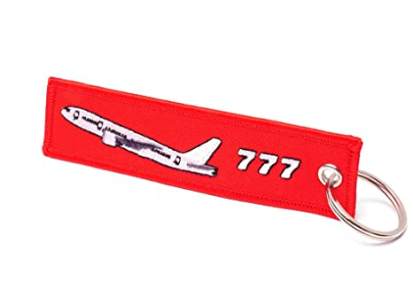 REMOVE BEFORE FLIGHT ® Llavero en Rojo | Boeing Edition ...