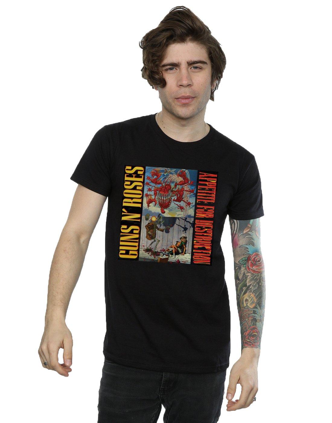 Guns N Roses Appetite Banned T Shirt 3400
