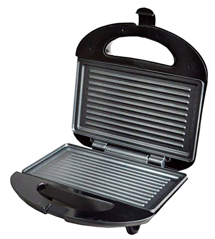 789091ab3 Buy WisTec 750 W Jumbo Grill Sandwich Maker (Black) Online at Low Prices in  India - Amazon.in