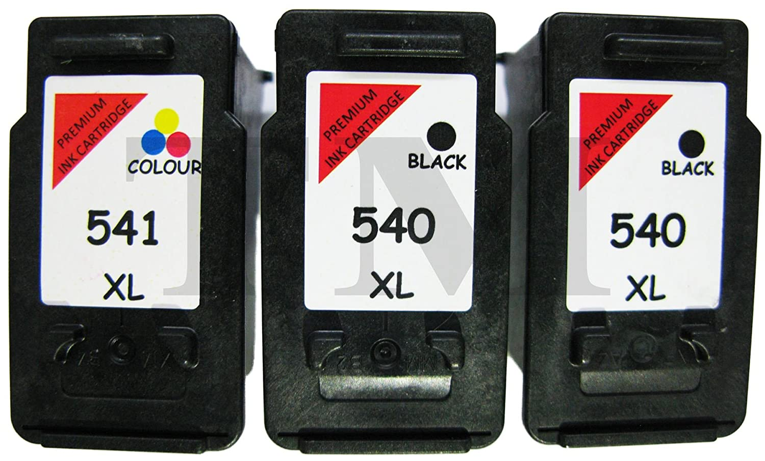 Remanufactured 2 x PG-540 X L y CL-541 X L (negro y color ...