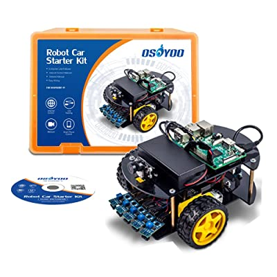 OSOYOO Robot Car Kit Smart Car Learning Kit for Raspberry Pi
