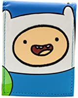 Awesome Adventure Time With Jake And Finn Face Bi-Fold Wallet