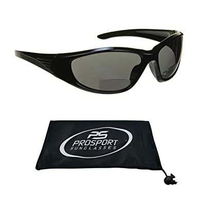 eb72450cf940 Polarized Bifocal Sunglasses 1.50 with premium 1.1mm TAC Polarized lenses  and Sporty Full Wraparound Frame