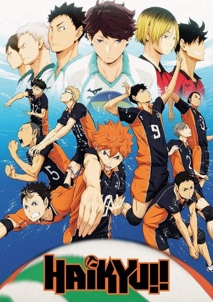 Amazon.com: S-ANT Haikyuu Anime Poster 24in x 36in Sport Volleyball: Posters & Prints