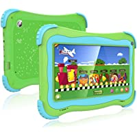 Kids Tablet 7 Android Kids Tablet Toddler Tablet Kids Edition Tablet with WiFi Dual Camera…