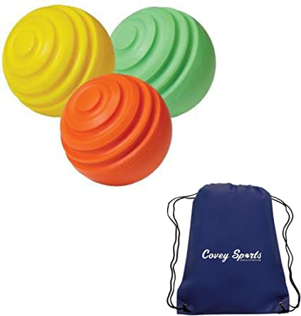 Amazon Com Baseball Curve Ball Hitting Trainer 3 Pack Pronine Curve Ball Hit Training Aid Bundled With Covey Sports Equipment Bag Sports Outdoors