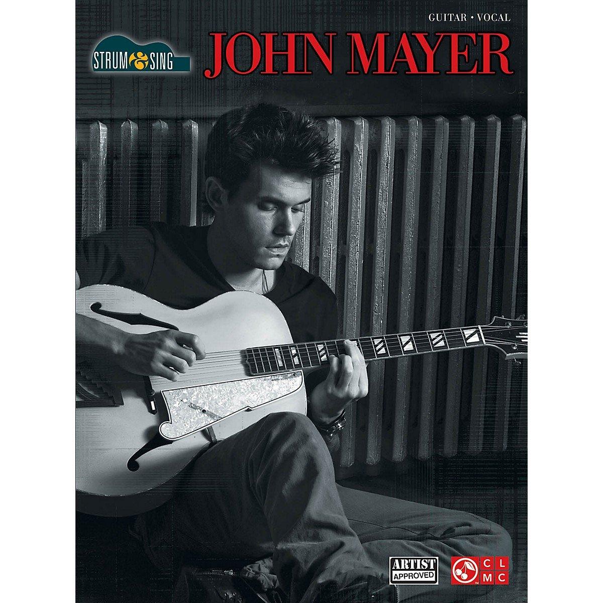Cherry Lane John Mayer Strum Sing Easy Guitar With Tab
