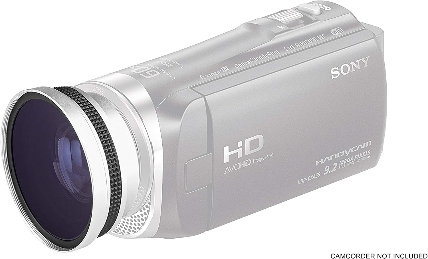 Wide Angle Lens for Sony HDR-CX455 (0.4X)