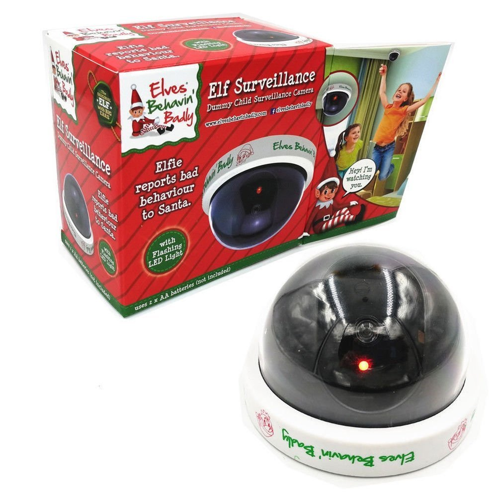 Elf Surveillance Santa Camera – Dummy CCTV Camera