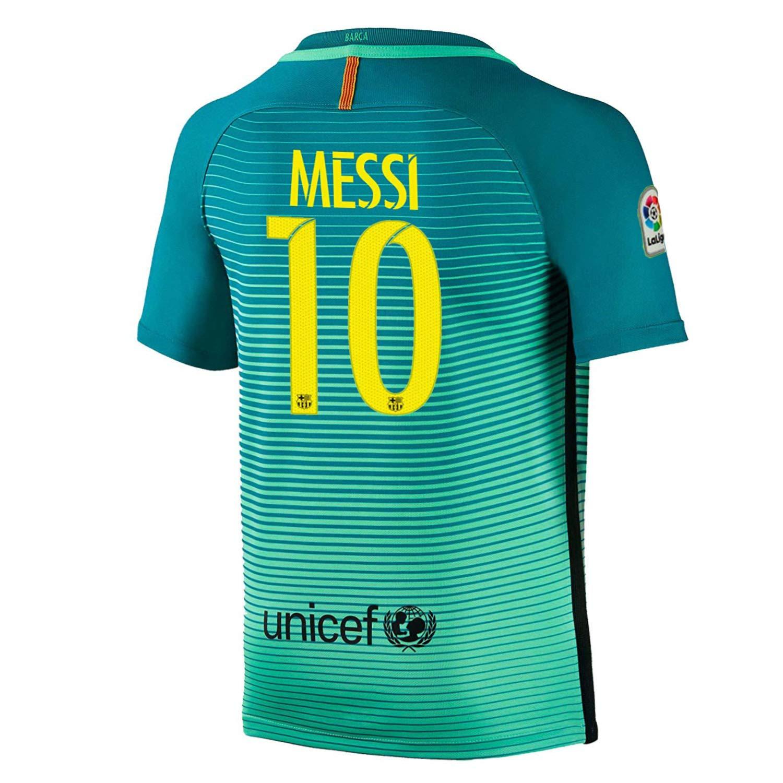 super cute 7de07 c6aca Amazon.com: Beermiaud Mens FC Barcelona #10 Messi Away ...