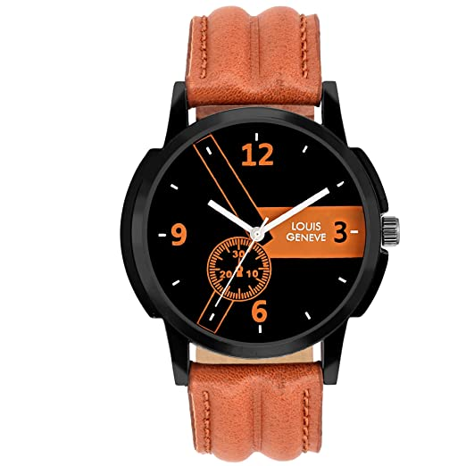 Louis Geneve Polo Series Analog Watch for Men (BBROWN-139)