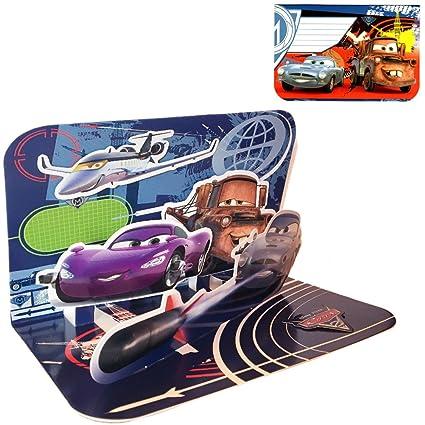 Tarjeta gráfica en 3D de Disney Cars: Amazon.es: Oficina y ...