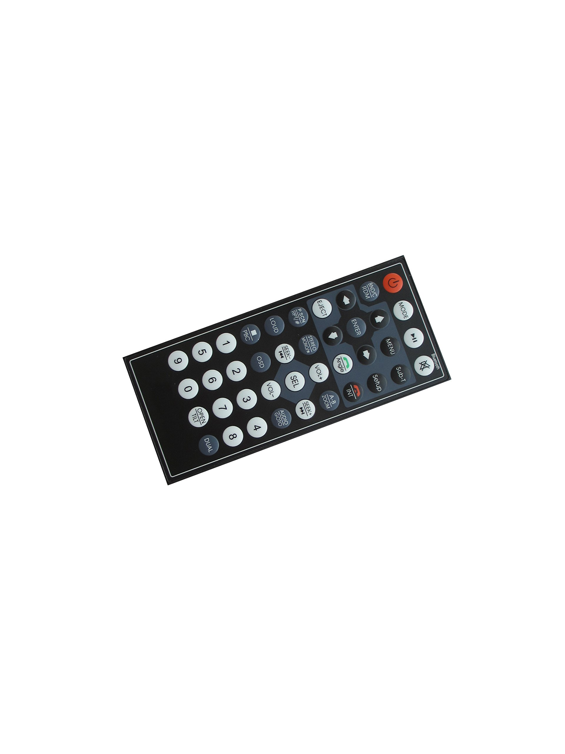 General Remote Control For Farenheit TI-620HB TI-710BT BTID-893BT TI-712T TI-620HB TI-103B TI-710B TI-712B TI-720HB TI-930B TI-650B TI-651B DVD CD USB SD AM FM MP3 Player Bluetooth Car Stereo Receiver