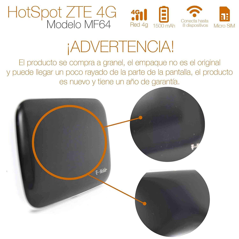 ZTE MF64 4G Mobile Broadband Wifi HotSpot Z64 (T-Mobile) by ZTE