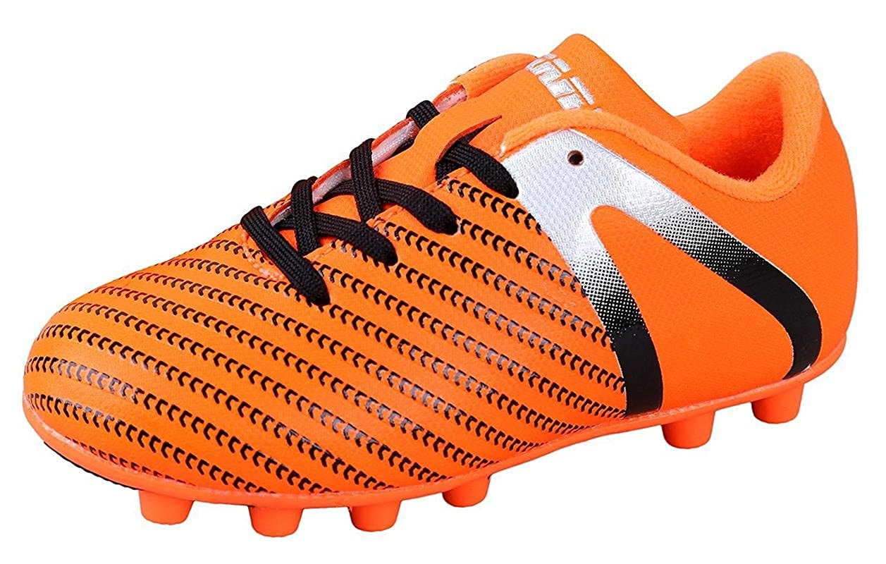 Vizari Youth/Jr Impact FG Soccer Cleats Impact Orange/Silver Youth