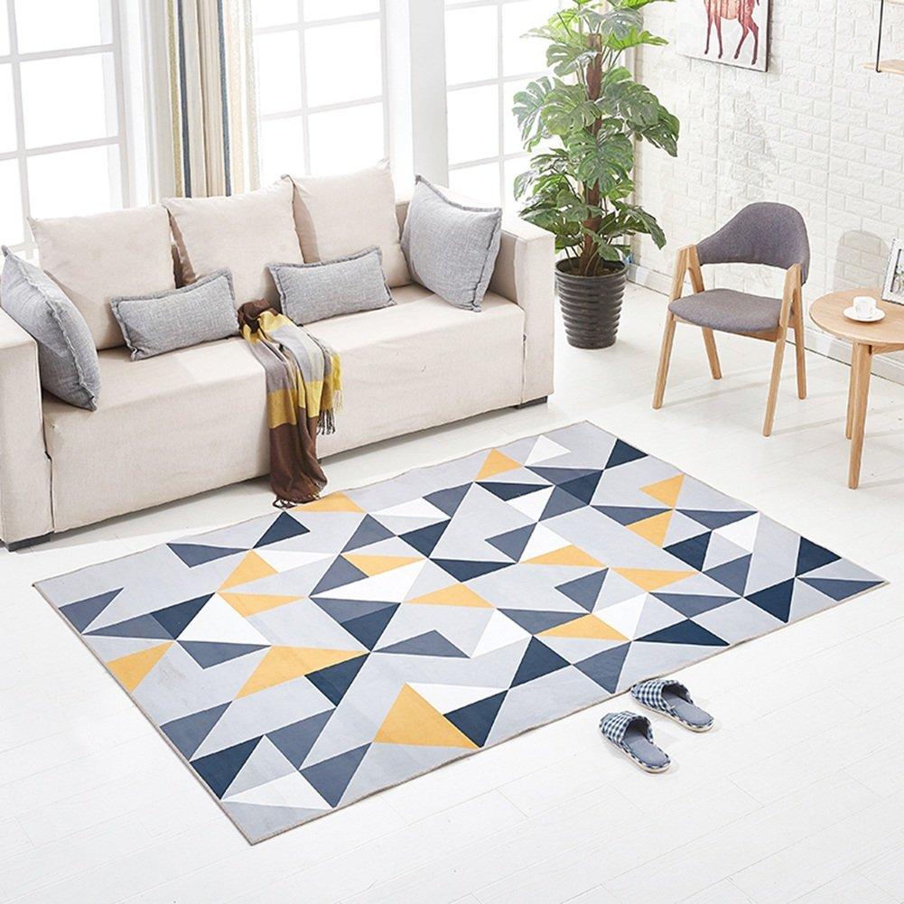 LiuJF Graffiti Stil Teppich, Wohnzimmer Sofa Nachtdecke Tee Tischset Baby Klettermatte Haushalt Bodenmatte Länge 40-140 cm (Farbe   D, größe   140  200CM) E 120160CM