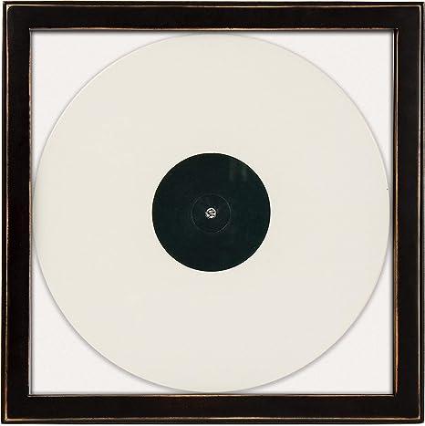 Amazon.com: Crosley AC1006A-BK Wood Album Cover Frame, Black ...