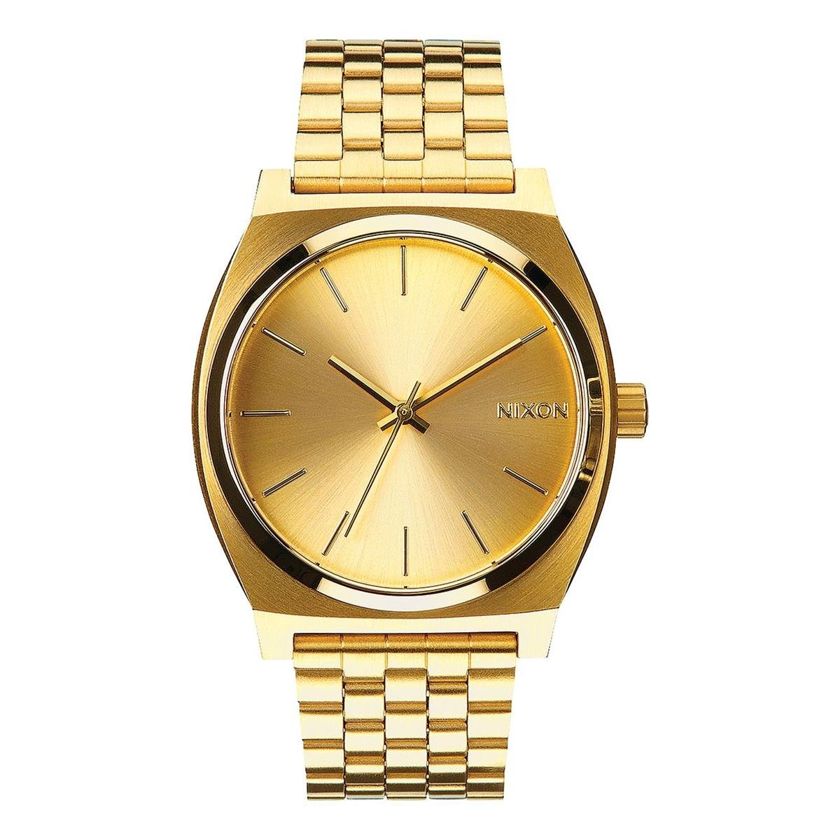 Nixon Time Teller A045511-00. Women's Gold Watch (37mm. Gold Metal Band/Gold Watch Face)