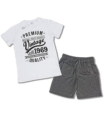 45be01b87 1969 Vintage Year - Aged to Perfection - 50th Birthday Gift/Present Mens  Pyjama Set: Amazon.co.uk: Clothing