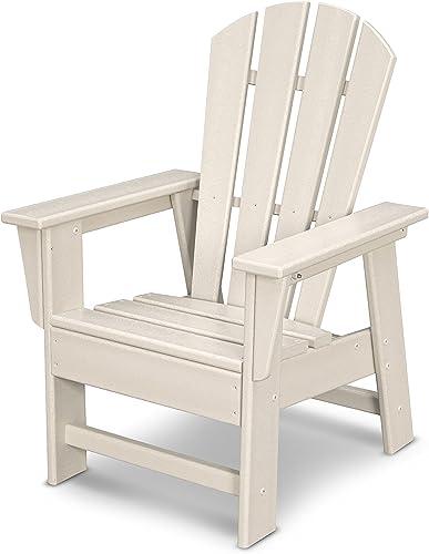 POLYWOOD SBD12SA Kids Casual Chair, Sand