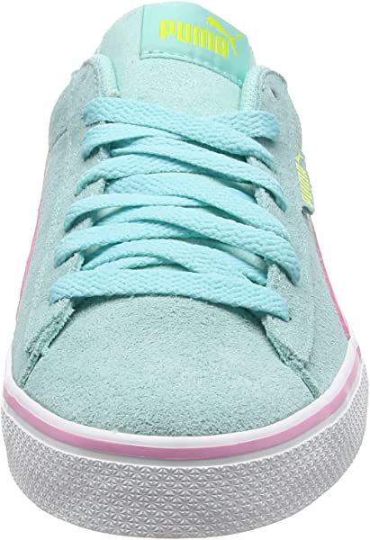 c08818b45e3 Puma Unisex Kids 1948 Vulc Jr Low-Top Sneakers Aruba Blue-Prism Pink ...