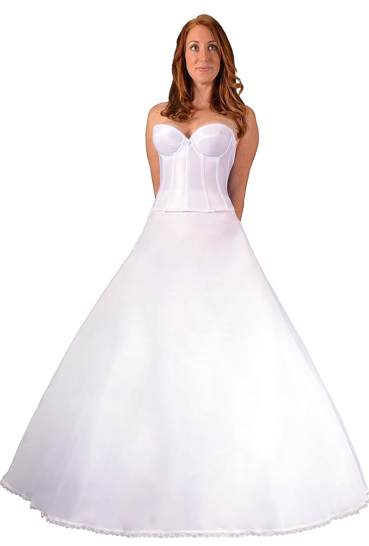 A line full bridal petticoat crinoline wedding slip CH106DS