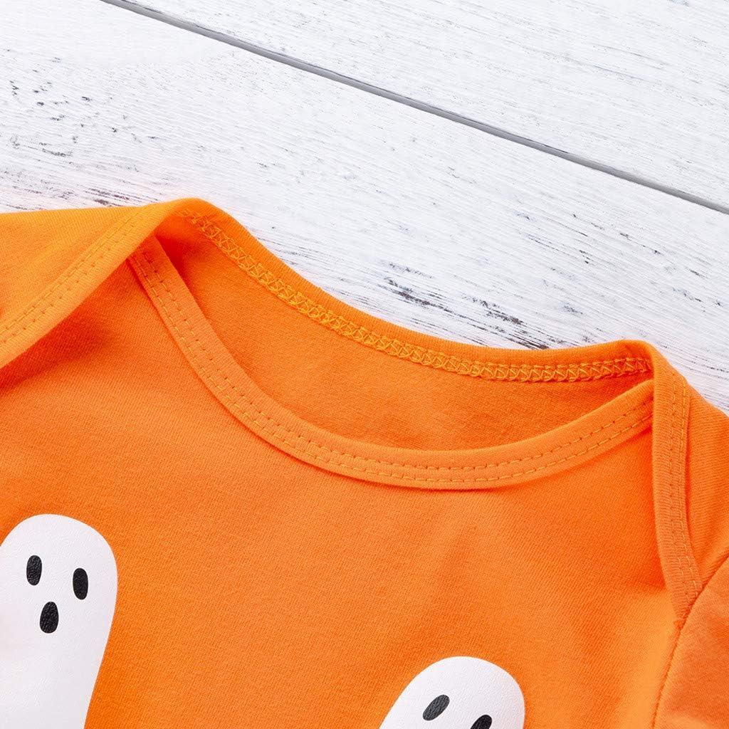 FELZ Mono Bebe Recien Nacido Calabaza de Halloween de 0 a 24 Meses ...