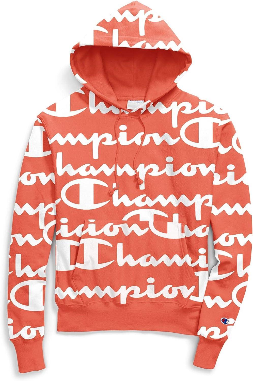 Champion Groovy Papaya Reverse Weave Pullover Hoodie