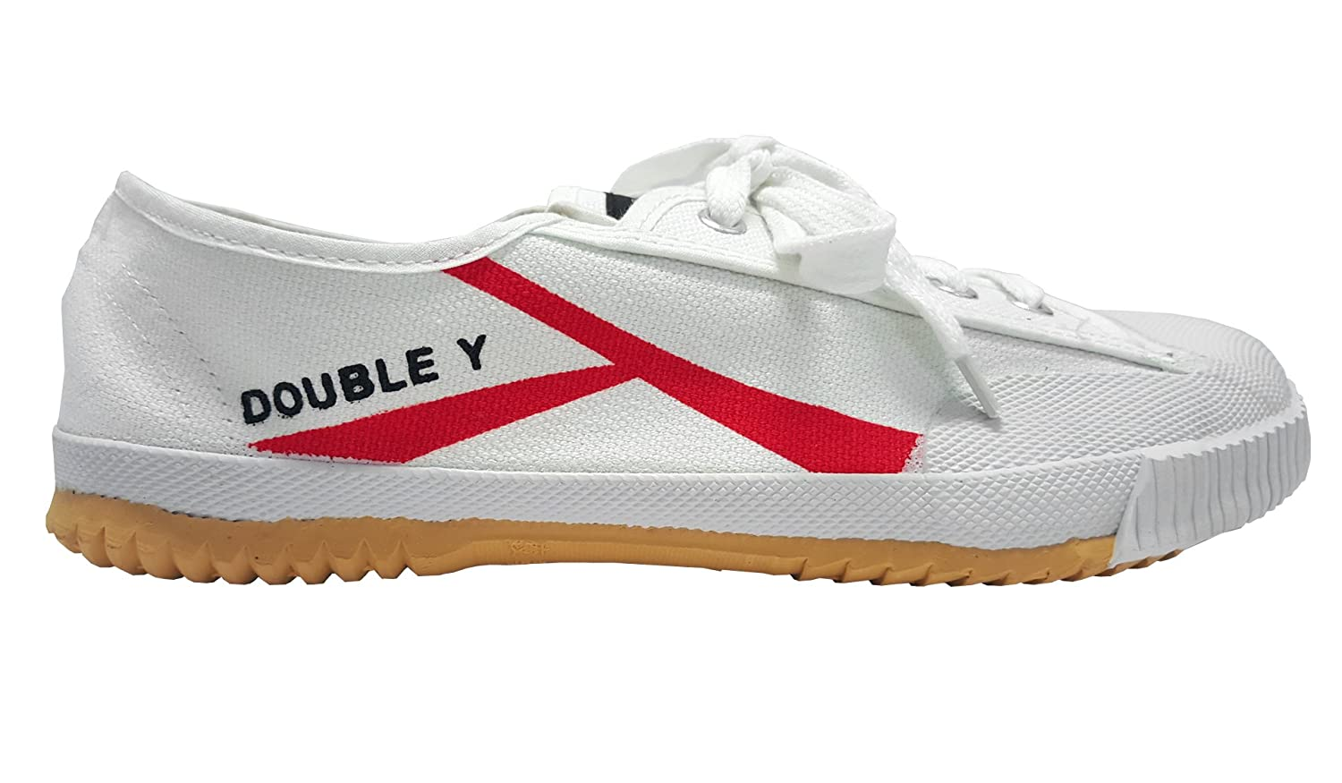 DOUBLE Y Chaussures Kung Fu Blanches