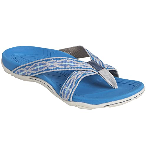 89062d9d78284 Earth Shoes Malia Women's Blue Multi 8 Medium US