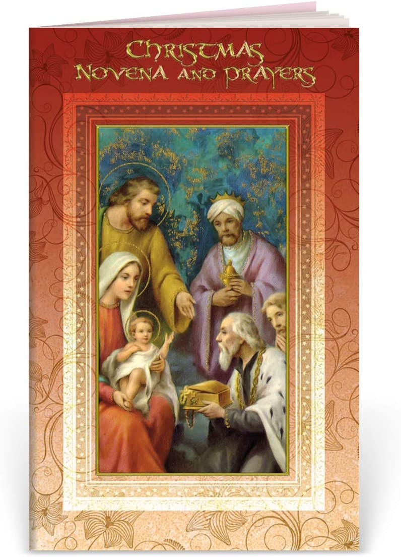 Christmas Novena and Prayers Illustrated Book Published by William J. Hirten Company
