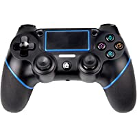 PS4 Controller, Sades C200 Bluetooth Gamepad Six Axies DualShock 4 Wireless Controller for PlayStation 4, Touch Panel Joypad with Dual Vibration