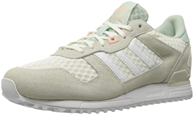 adidas Originals Women's zx 700 w Fashion Sneaker, White/Vapor Green F16, 9