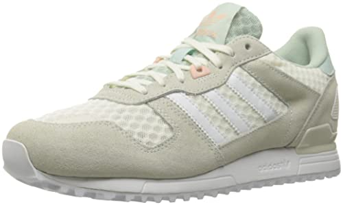 wholesale dealer a4236 f063e adidas Originals Women s zx 700 w Fashion Sneaker, White Vapor Green F16,  9.5