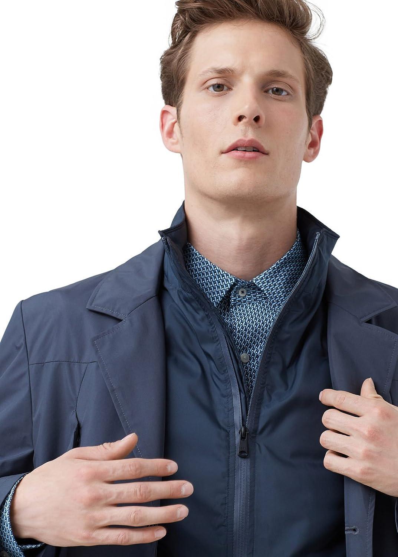 MANGO MAN - Detachable gilet jacket - Size:L - Color:Charcoal