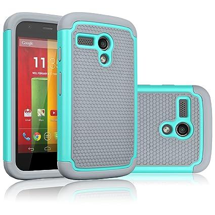 Amazon.com: Motorola Moto G funda, Moto G 1ST Gen funda ...