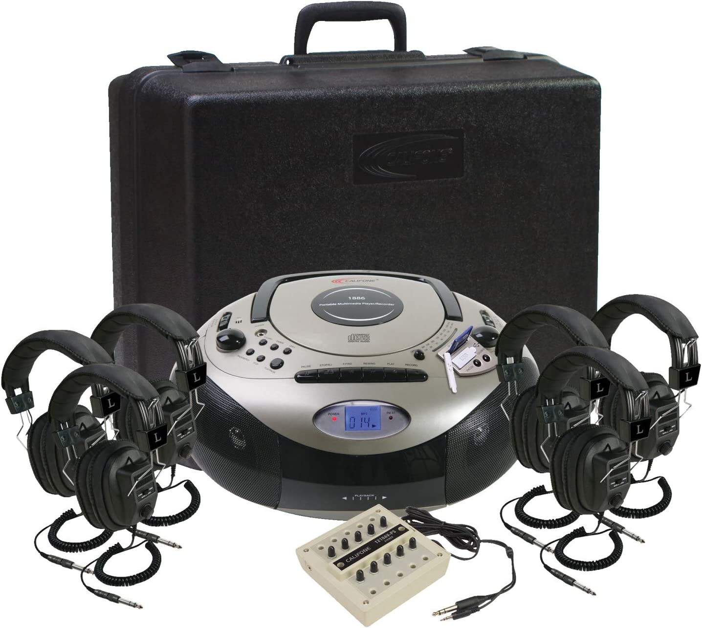 Califone 1886PLC-6 Six Person Spirit SD Learning Center
