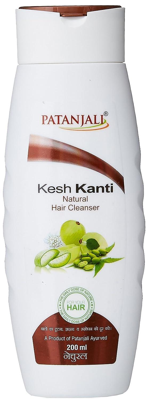 III. Patanjali Kesh Kanti Natural Hair Cleanser Shampoo, 200ml
