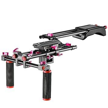 Neewer Kit de Sistema Jaula Rig Plataforma Filmación para Canon ...