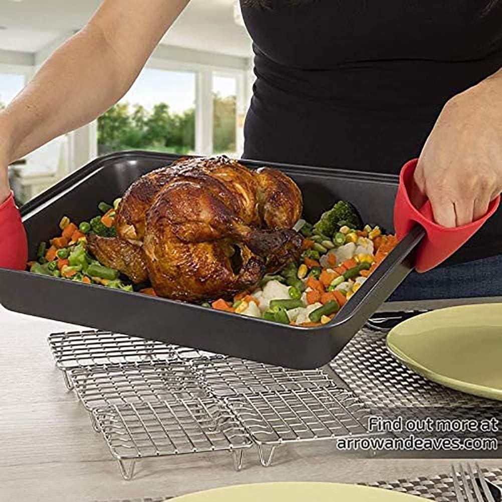Grille de refroidissement//grille de cuisson les barbecues Yeyll Grille de refroidissement en acier inoxydable pour cuisson les grillades Convient pour la cuisson le s/échage robuste la cuisson