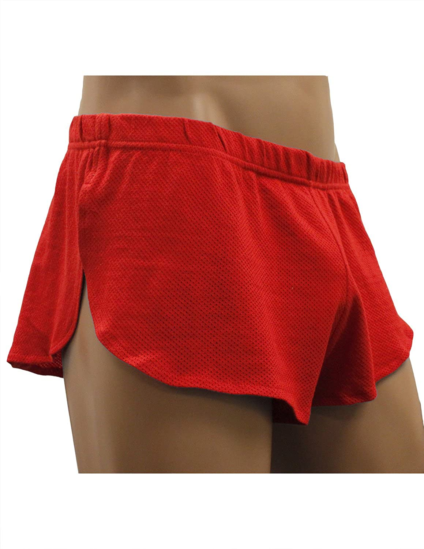 ca0c5e398e73 NDS Wear Mens Cotton Mesh Side Split Short at Amazon Men's Clothing store: