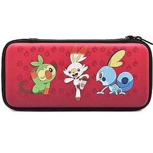 Nintendo Switch Pokémon Sword & Shield Hard Pouch by HORI - Officially Licensed by Nintendo & Pokémon