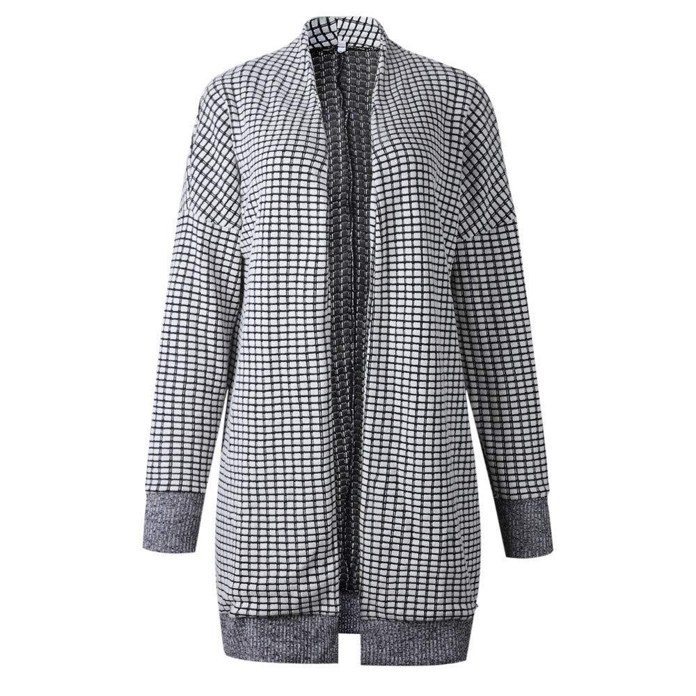 Orangeskycn Women Cardigan Shawl Knitted Top Thicker Outwear Coat Jacket Overcoat