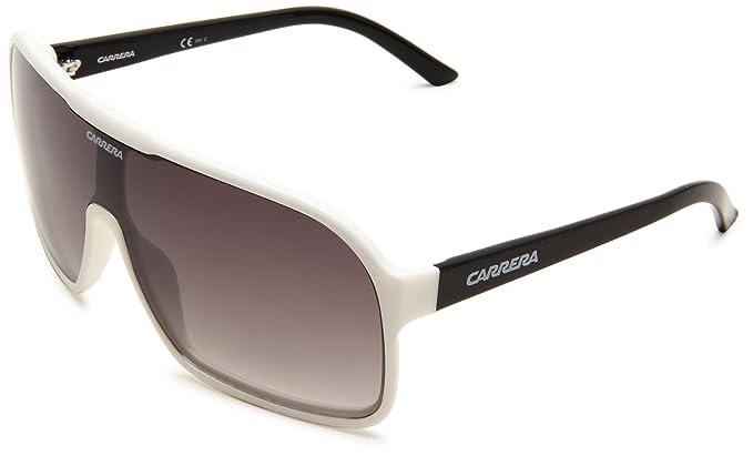 Amazon.com: Carrera 5530/S Escudo anteojos de sol, Blanco ...