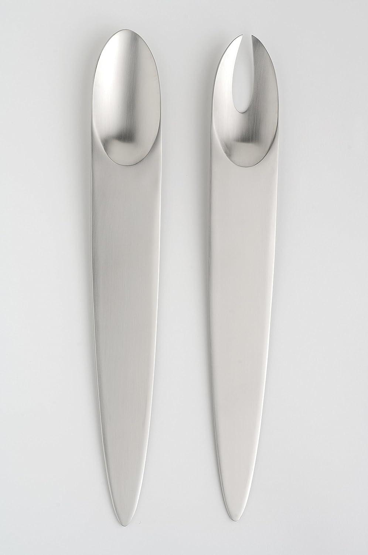 Eternum, diseño de cubiertos, Appetize 3030-BLNSA, acero inoxidable{18} /{10}, forjado en caliente de alta calidad, acabado mate, diseño original y ...