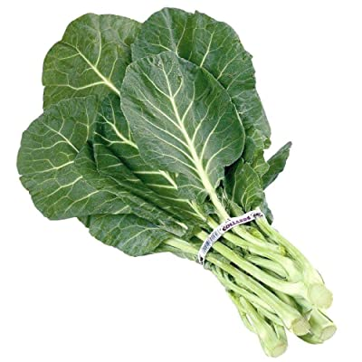 2000 Seeds Georgia Southern Collard (1/4 oz)- Many Packet Sizes Easy Grow Greens : Garden & Outdoor