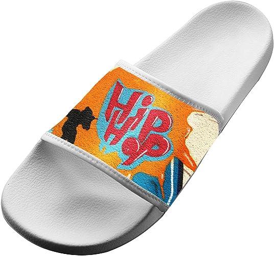 NHM Kids Sandal Anti-Slip Bath Slippers Shower Shoes Indoor Floor Slipper